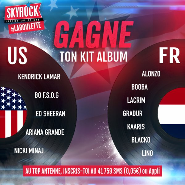 Gagne ton KIT ALBUM US ou FR !
