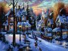 Une de mes passions .. Le village de Noel !