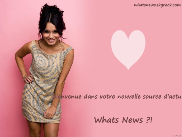 Bienvenue dans WhatsNews :) !