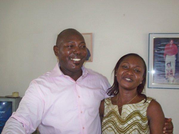 mon papa et ma maman