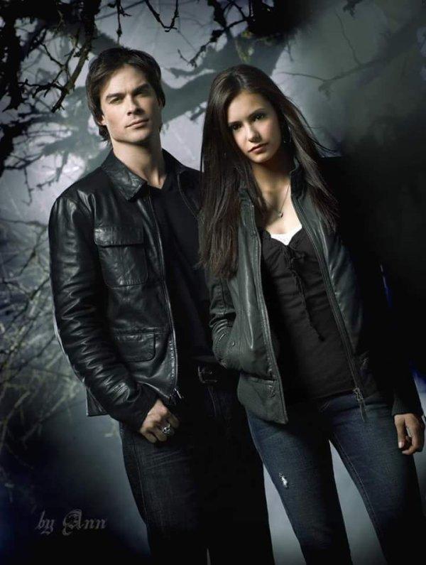 Damon et elena bien plus.que.de.l'amour