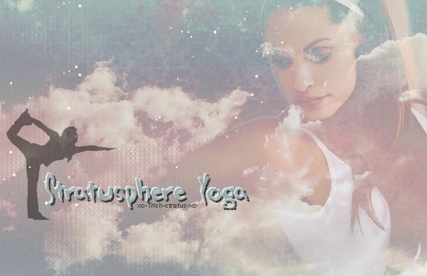 8  • • •' Stratusphere Yoga ' • • • 8