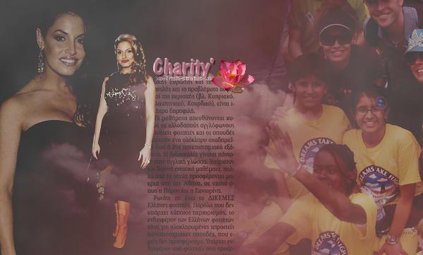 8  • • •' Son travail Caritatif  ' • • • 8