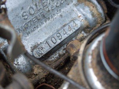 solex moteur numero