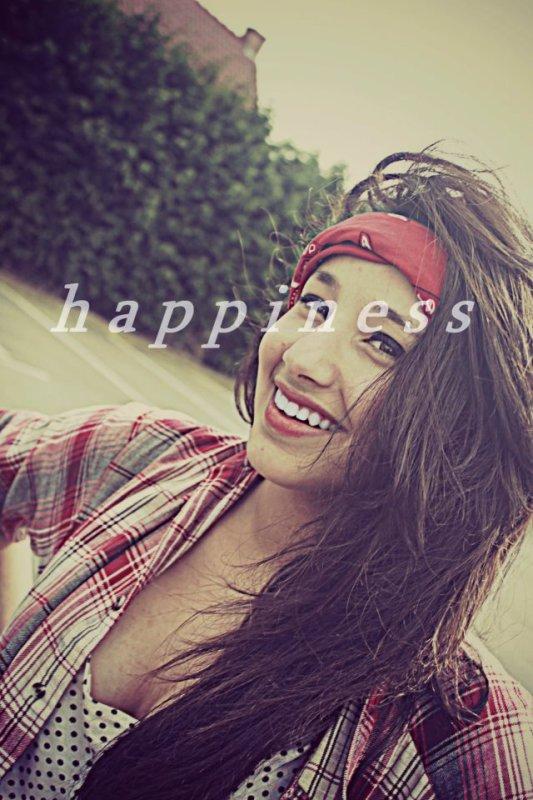 """le bonheur"