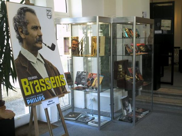 VENDS EXPOSITION GEORGES BRASSENS