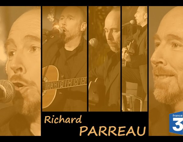 RICHARD PARREAU SUR FRANCE 3 TELEVISION - 2007