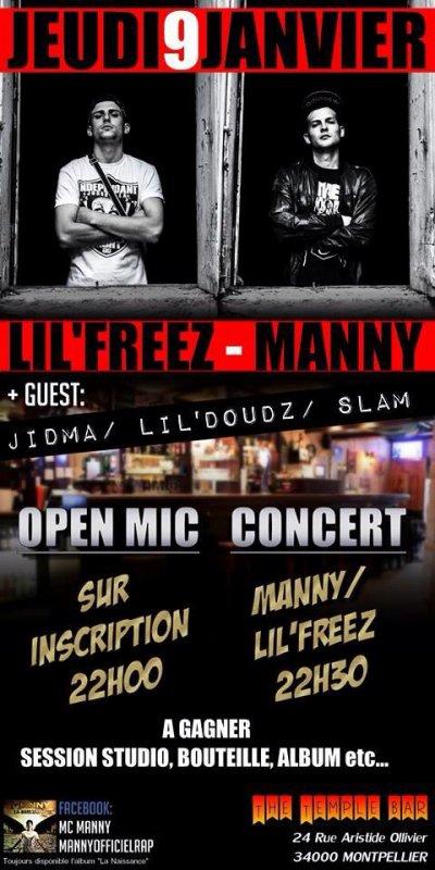 Concert + Open Mic