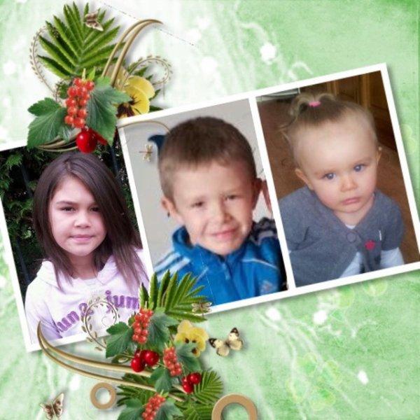 mes 3 petits dernier