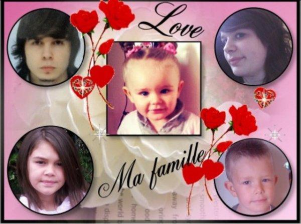voici mes 5 enfants