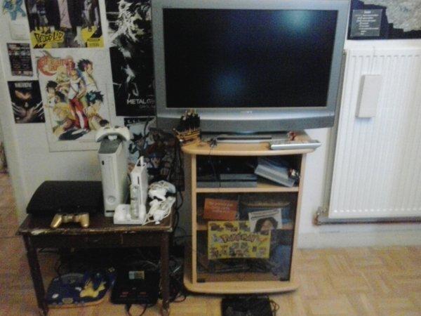 L'endroit où je passe le plus clair de mon temps!: ma chambre XD