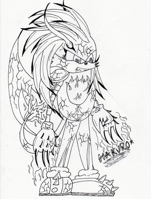 Fice (dessin version Sonic!)
