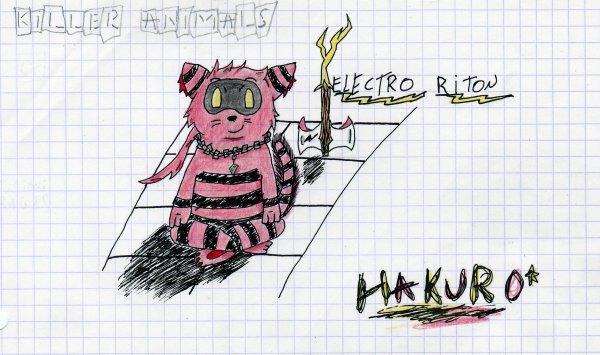 Killer Animals: Electro Riton