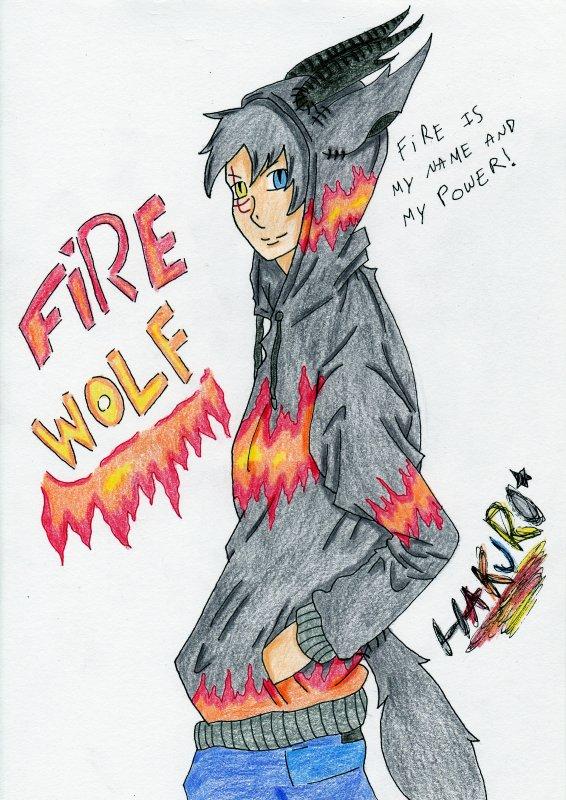 Killer Animals: Fire Wolf humain