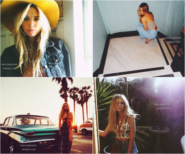 *ashleysbenson* Voici la suite du shoot d'Ashley pour Find Your California.