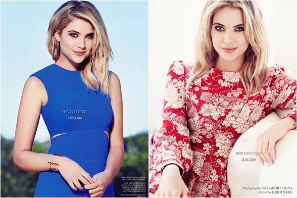 "Ashley Benson sera en couverture du magazine ""Fashion"" de l'été 2015."