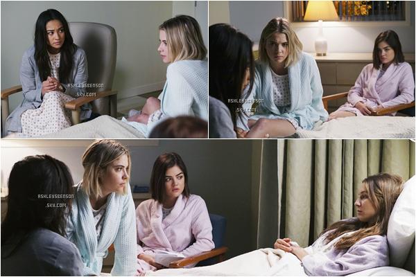 """Voici les stills de la saison 6 de PLL, l'épisode 2 intitulé """"Songs of Innocence"""" ainsi que l'épisode 3 """"Songs of Experience""""."""