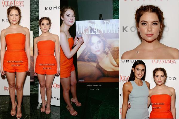 Le 28 Janvier, notre belle actrice était au 23ème anniversaire d'Ocean Drive Magazine Hosts à Miami. Sa combinaison est super belle, le orange lui va bien, mais je trouve que ça la boudine un peu du haut, ça reste un top.