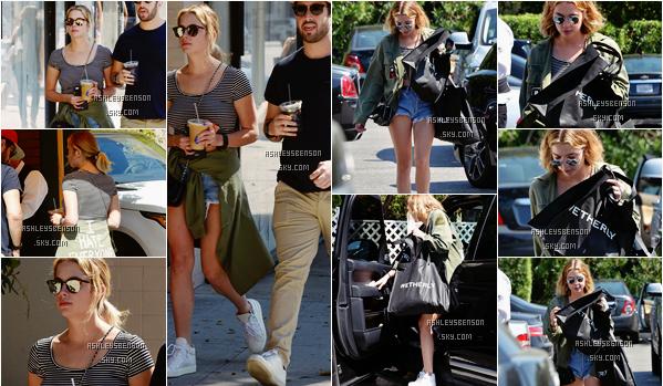 Le 20 Mars, Ashley faisait du shopping dans Los Angeles. Elle a apparemment acheter chez Jimmy Choo, sa tenue est simple et sportive et je n'aime vraiment pas, elle nous a habitué à mieux, gros gros bof.