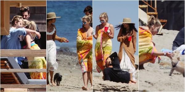 Le 05 Juin, Ashley Benson et Ryan se sont rendus sur une plage de Malibu, accompagnée de Vanessa Hudgens, son petit copain, Austin et des amis. Désolé pour la très mauvaise qualité des photos, il n'y a qu'elles de disponibles.