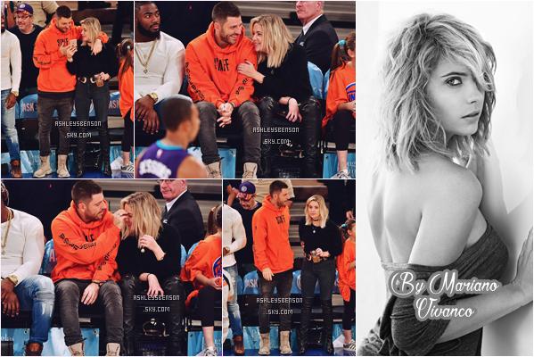 25/11/16 : Ash et Ryan, étaient au match des Charlotte Hornets & NY Knicks, NYC. + Le 05/11, Ashley Benson se promenait seule dans les rues de, New York City. La 1er tenue est superbe!
