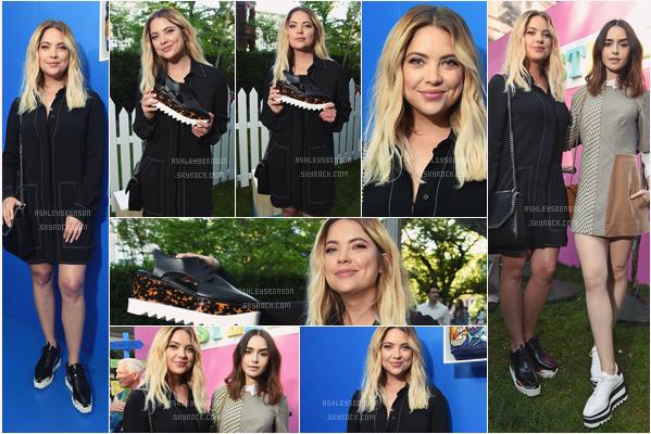 07/06/17 : Ashley était à la présentation de la collection 2018 de Stella McCartney, New York City (NY). Comme d'hab tenue très noir, mais que j'aime bien quand même, par contre niveau chaussures j'ai de gros gros doutes ! Un bof.