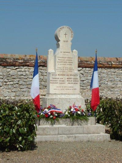 A SOUGY, rénové, le Monument de 1870 a été inauguré le samedi matin 24 avril 2010.