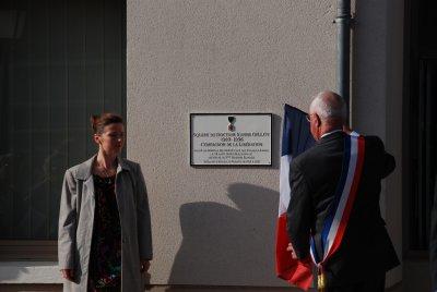 EPIEDS en BEAUCE - 09 Octobre 2010 - Hommage au Dr Xavier GILLOT, Compagnon de la Libération.