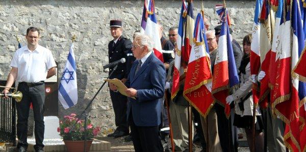 Pour le 70ème anniversaire de leur mort, la tombe des frères GRUÏN a été rénovée par le Souvenir Français de Patay et l'association S.O.S. patrimoine de Gémigny.