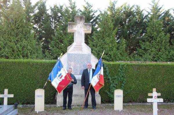 Le Comité de Bergerac en visite à Patay.