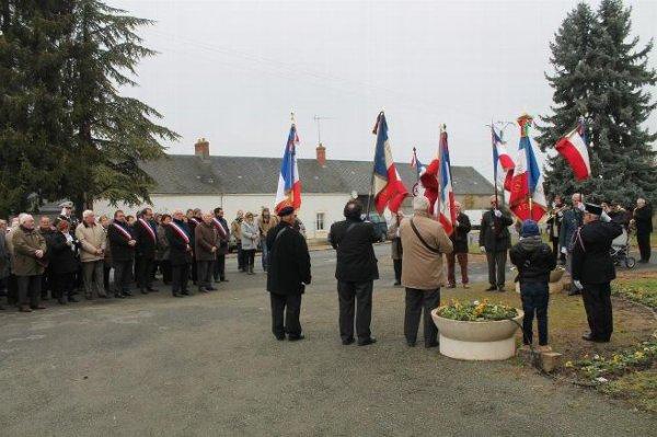 Cérémonie en hommage aux Morts pour la France en Algérie à Gémigny