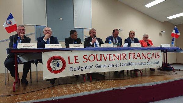 ORLÉANS: Assemblée départementale de la Délégation Générale et des Comités du Souvenir Français du Loiret.