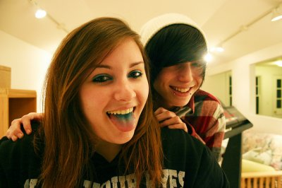 Me and Amanda!!
