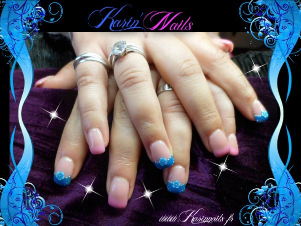 Ongle En Gel Ete French