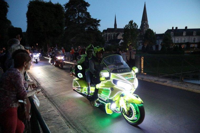 La parade lumineuse des Goldwing