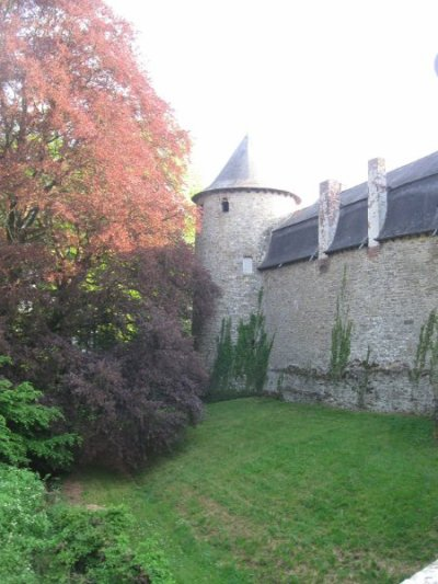 vue du chateau