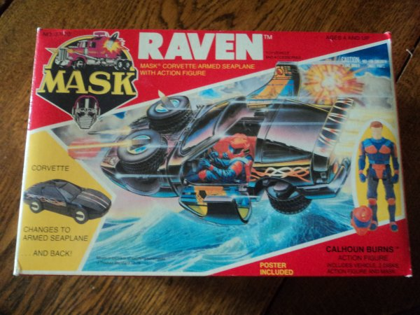 "Ma collection MASK M.A.S.K ""raven mint in box"""