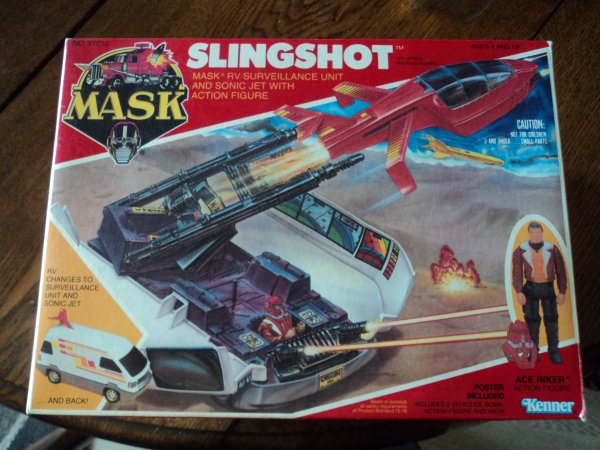 "Ma collection MASK M.A.S.K ""Slingshot mint in box"""