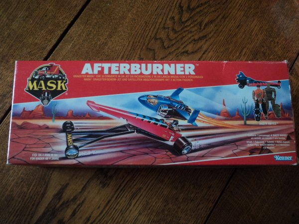"Ma collection MASK M.A.S.K ""Afterburner mint in box"""