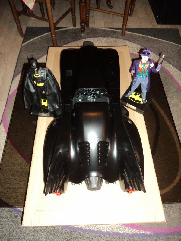 Batmobile du film tim burton BATMAN de 1989