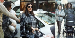 Laura Pausini maman, ici avec Paola!