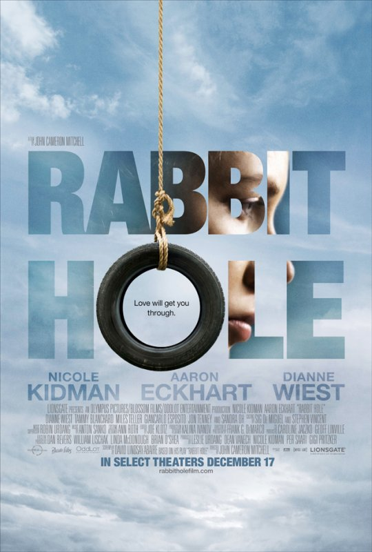 __BLUSHING_raspberry>> NEWS : Rabbit Hole Poster