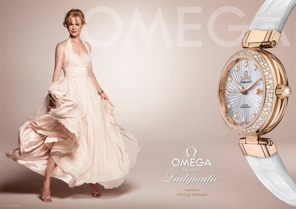 __BLUSHING_raspberry>> NEWS : Omega lance 'Ladymatic'