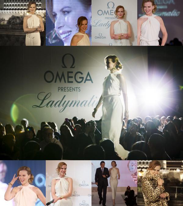 __BLUSHING_raspberry>> NEWS : Omega lance 'Ladymatic'