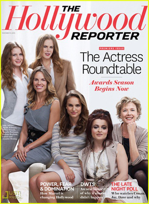 __BLUSHING_raspberry>> NEWS : Couverture de The Hollywood Reporter