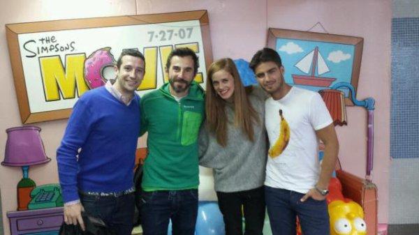 ♥  Santi Millán, María Castro et Maxi Iglesias : trois rois pour une bonne cause ♥