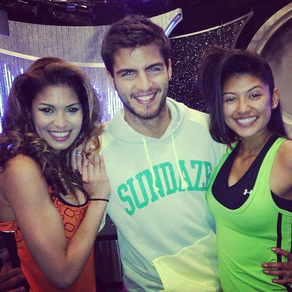 Maxi dans l'émission Nuestra Belleza Latina