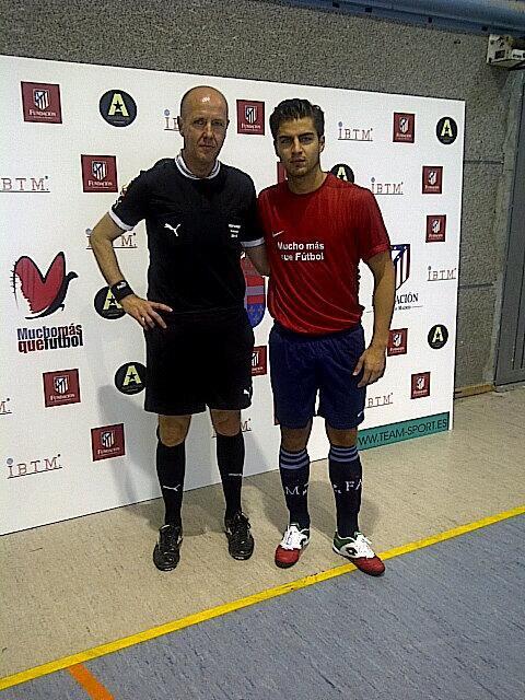❤Maxi Iglesias était présent pour un match bénéfique dans el escorial et en Guadalajara le 11/10/13 pour @FundacionNIPACE ❤
