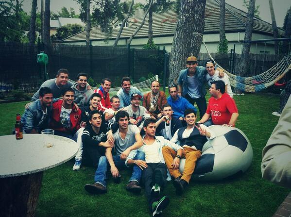 ♥ Maxi a participé le 29 septembre 2013 à un match de charité ♥