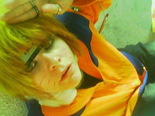 Moi en Naruto,désoler pour la qualité..*^*